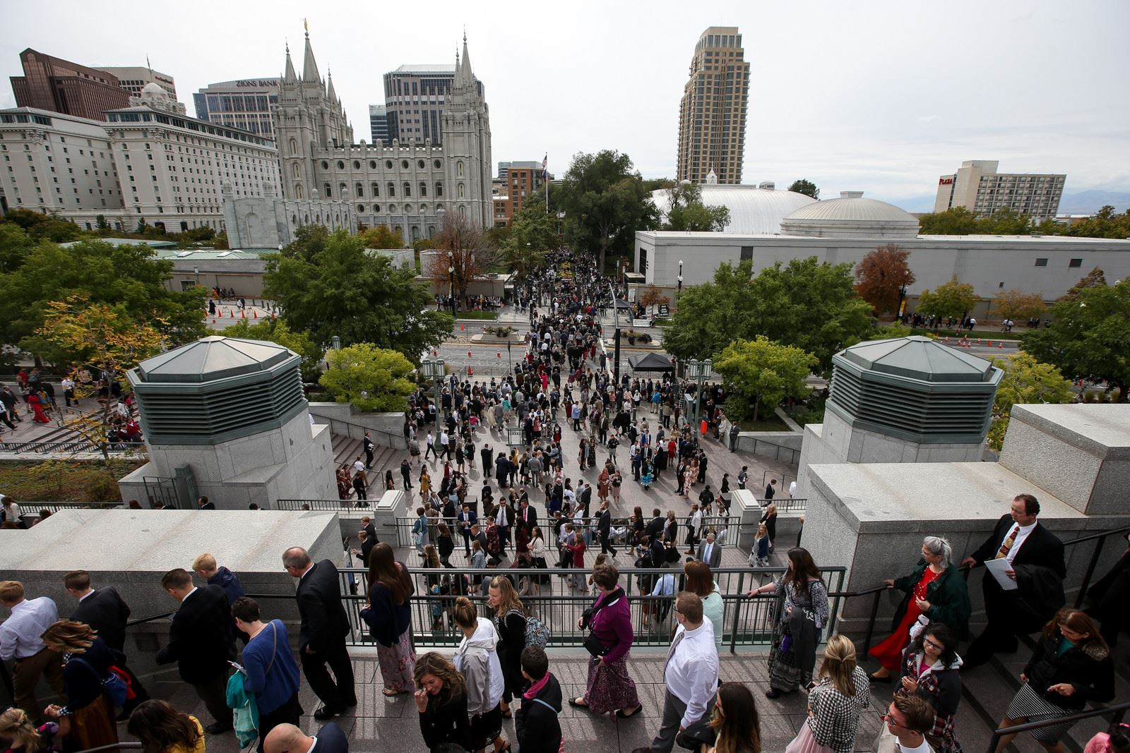 Church to Reopen Temple Square this Summer