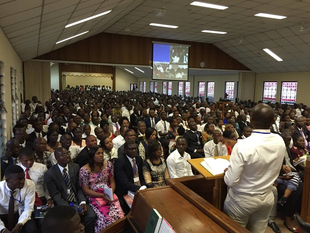 Elder Bednar Shares His Experience While Visiting The Saints In Kusami, Ghana Africa