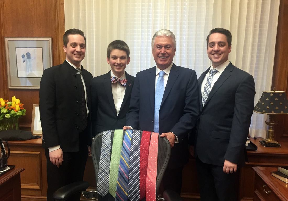 Why PresidentUchtdorf Often Change His Tie During General Conference
