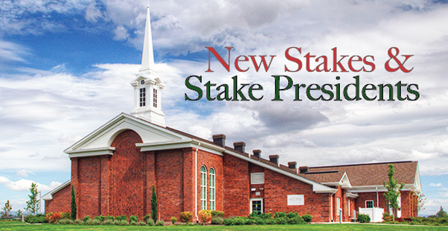 LDS Church Announces 6 New Stakes in Taiwan, USA and Brazil and Calls 38 New Stake Presidents