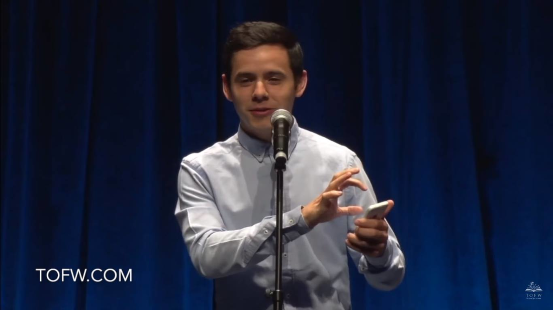 David Archuleta: You Are Beautiful Speech