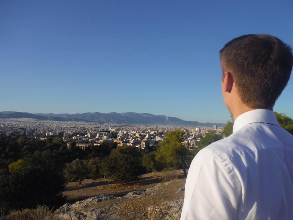 In the footsteps of Paul. Following Elder Teal's Journey in his mission in Greece Athens.