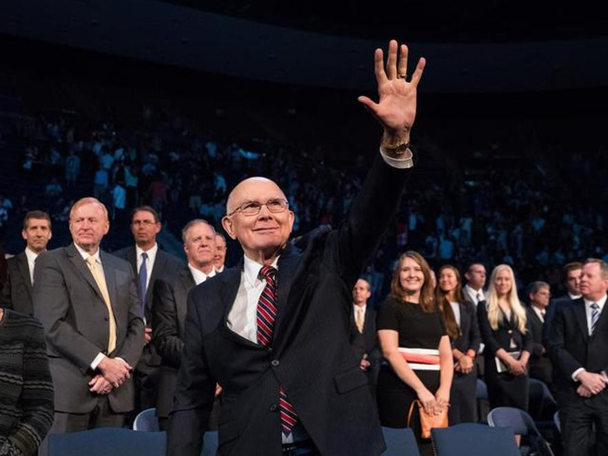 """""""Not to Be Part of the Current Meanness"""" in the Presidential Election, said Elder Oaks During An Address to Students in BYU"""