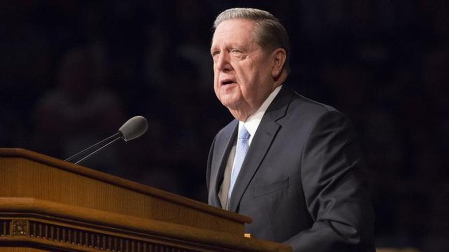 Elder Holland Of The Twelve Says That 'Preserving Religion's Place Can Bind Society Together'
