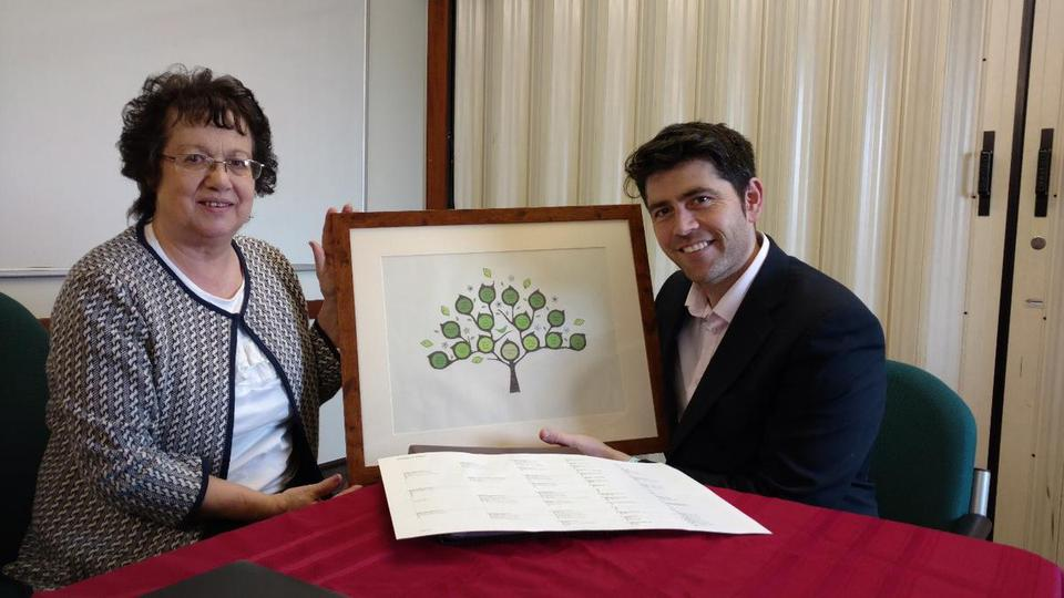 North Cornwall MP Visits St Austell Family History Centre