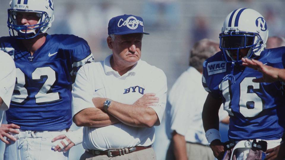 Legendary BYU Football Coach, LaVell Edwards Dies at 86