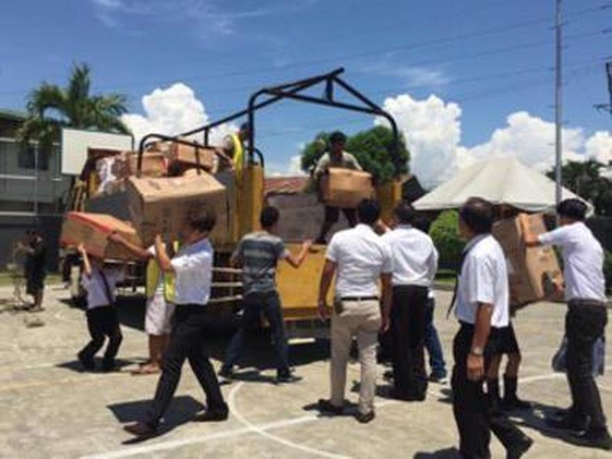 LDS Charities Responds to Urgent Needs to Affected Filipinos in Marawi Crisis