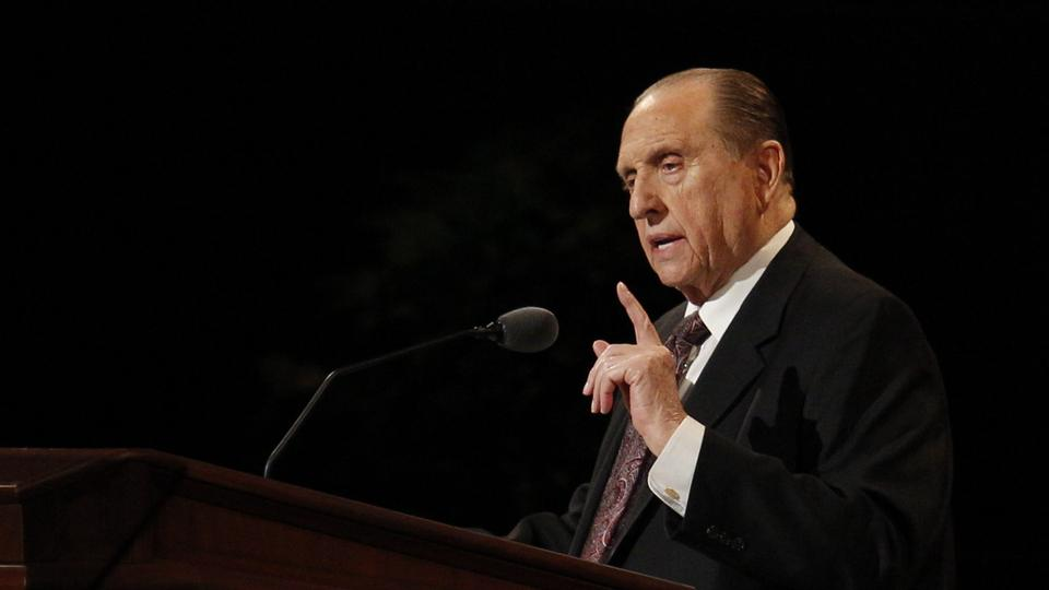 President Thomas S. Monson To Celebrate His 89th Birthday On August 21