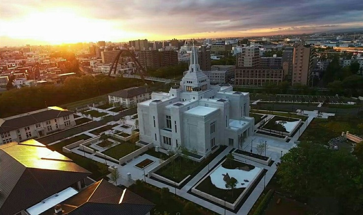 YouTube: A New Stunning Video Tour Takes You To The Newly Completed Sapporo Japan Temple