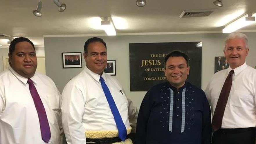 Philippine Ambassador to New Zealand Visits Church Service Centre in Tonga