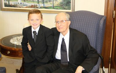 The Story Behind Elder Hales and his Black Tie with White Polka Dots