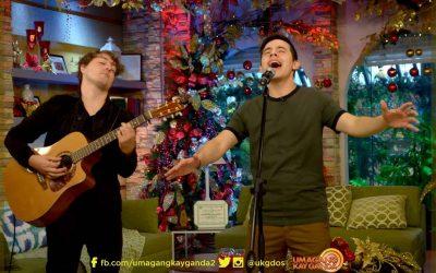 Watch David Archuleta Perform at Umagang Kay Ganda