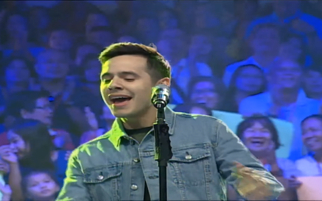 Watch David Archuleta Perform at Eat Bulaga