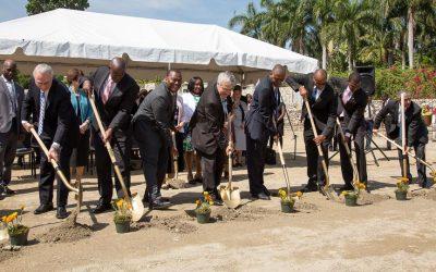 LDS Church Leaders Break Ground for Mormon Temple in Haiti