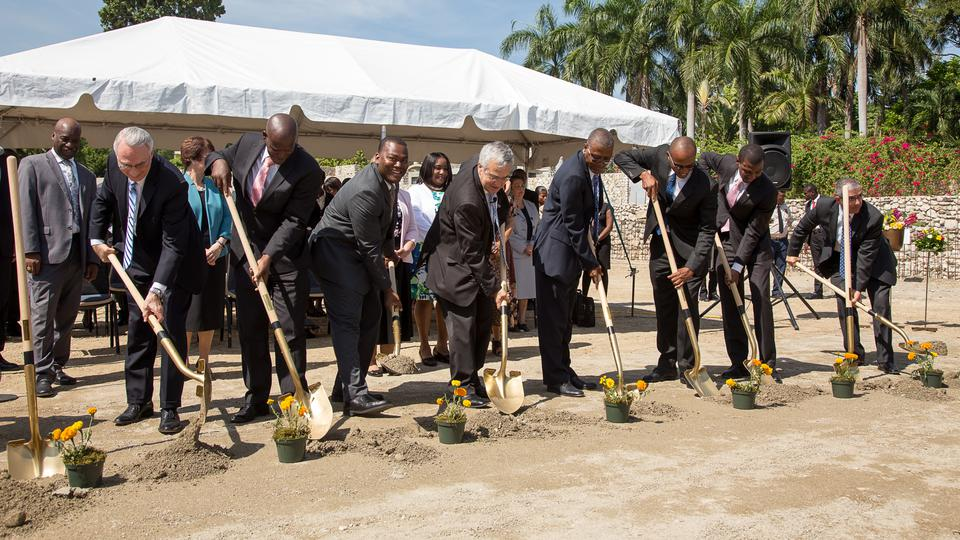LDS Church Leaders Break Ground for Mormon Temple in Haiti