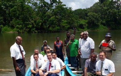 LDS Charities Donates Life Sustaining Boats to Fijian Village
