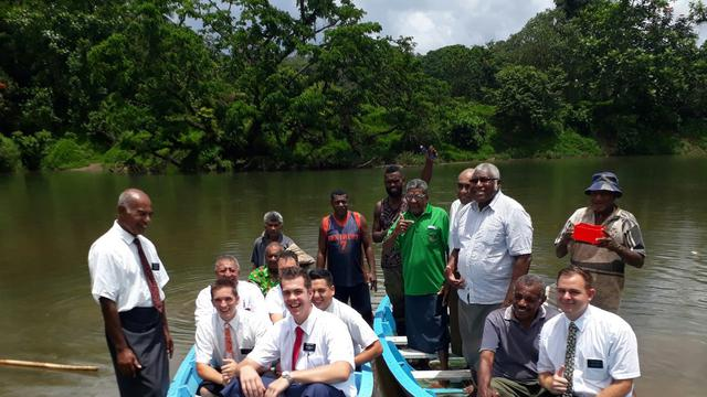 LDS Charities Donates Life Sustaining Boats to Fijian Village