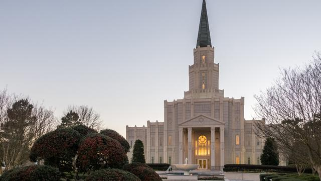 LDS Church to Temporarily Close Houston Texas Temple Due to Hurricane Harvey