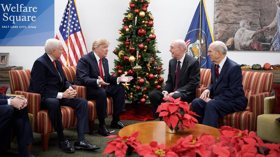 Donald Trump Praises LDS Church Welfare Program