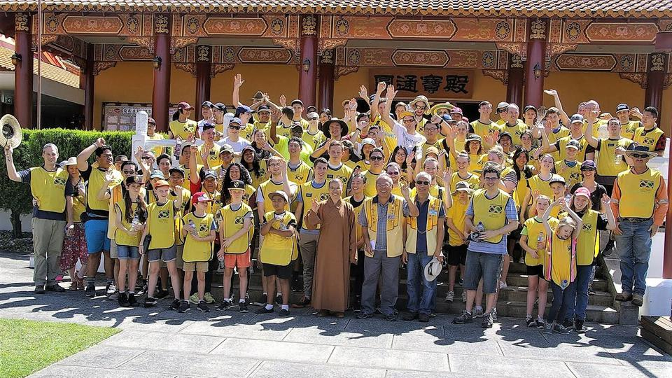 Brisbane Stake and Buddhist Temple Work Together
