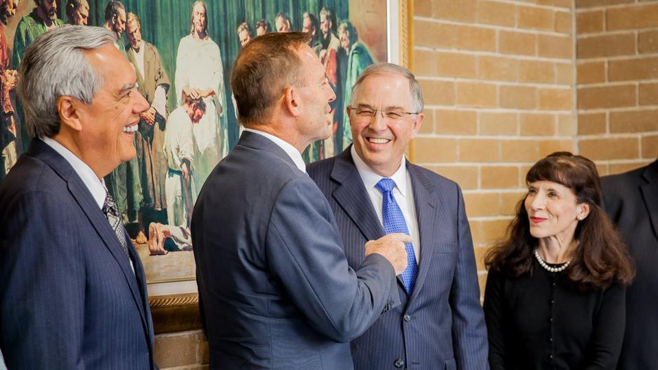Tony Abbott, Former Prime Minister of Australia, Meets Mormon Apostle