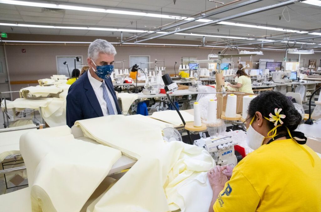 Latter-day Saint Church to Produce 200 Thousand Gowns, 1.5 Million Masks in COVID-19 Relief