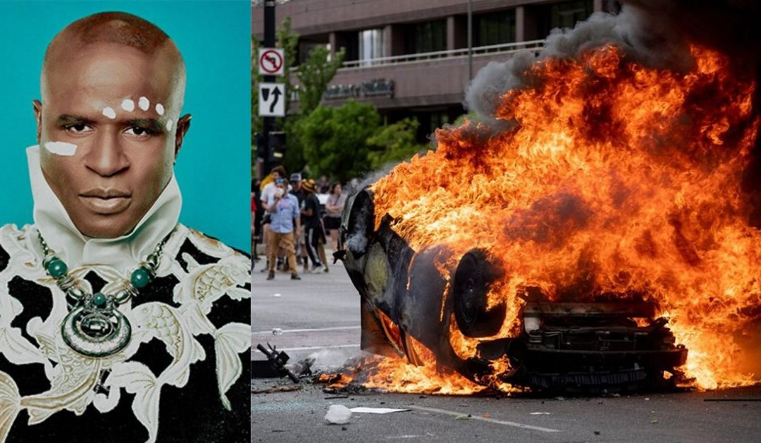 Alex Boye Share Thoughts as Protest for George Floyd's Death Turns Violent
