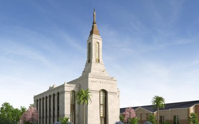 Church Releases Rendering of Okinawa Japan Temple
