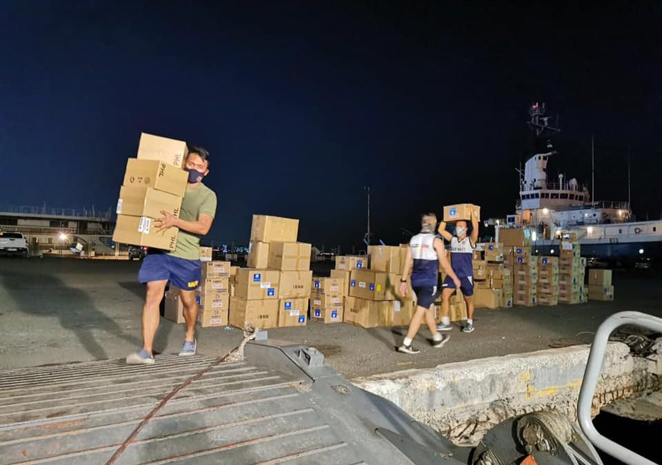 Church in the Philippines Continues to Offer Help for COVID-19 Relief
