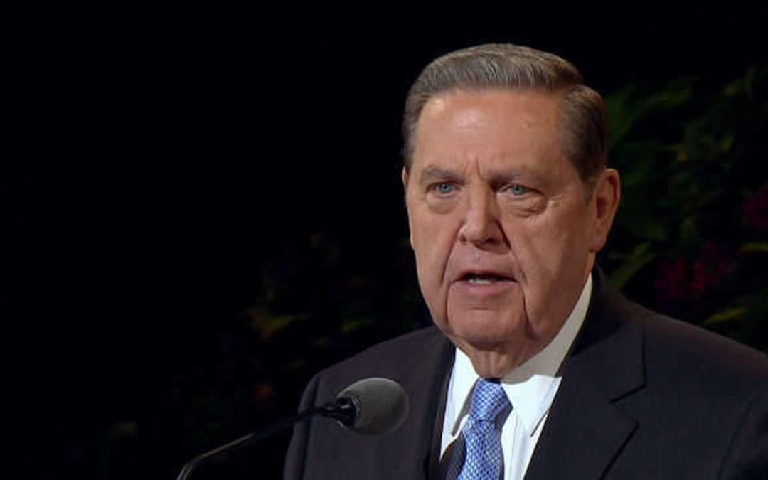 BREAKING: Elder Holland Admitted to Hospital