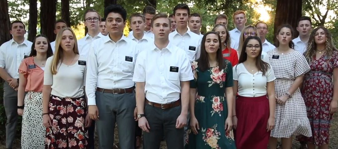 WATCH: Missionaries in California Make Inspiring Rendition of 'You Will be Found'