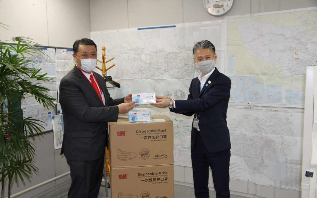 Church Donates 30k Masks to Japan for COVID-19 Relief