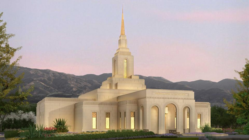 Latter-day Saint Church Released Rendering for Mendoza Argentina Temple