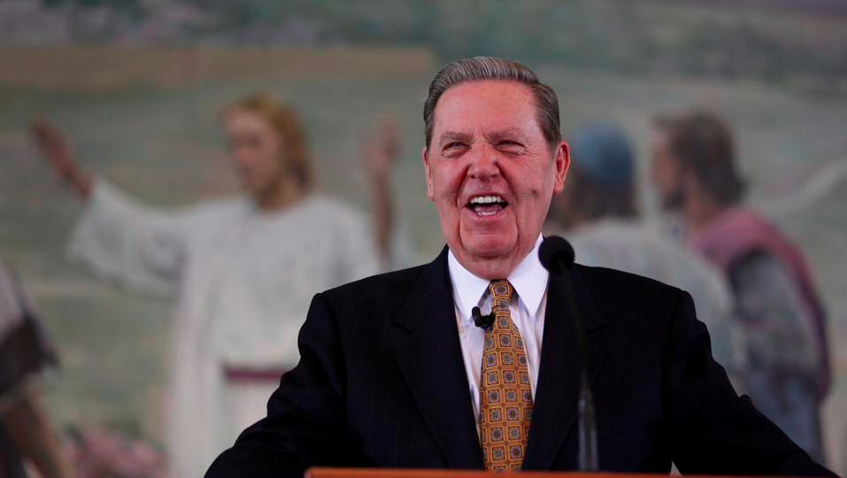 Church on Elder Holland's Health: It's Not COVID-19