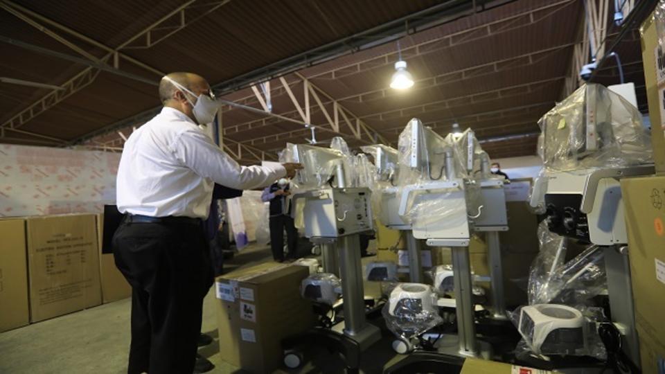 Church Donates ICU Beds and Medical Equipment to Peru