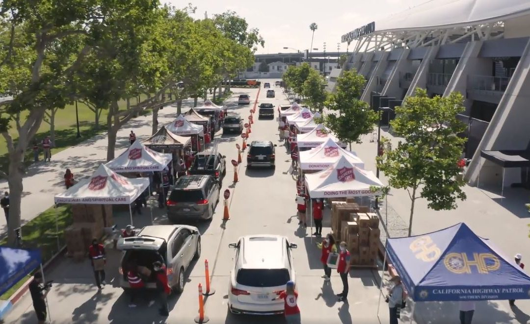 LDSC Help Feed More Than 2000 Families in California Affected by COVID-19