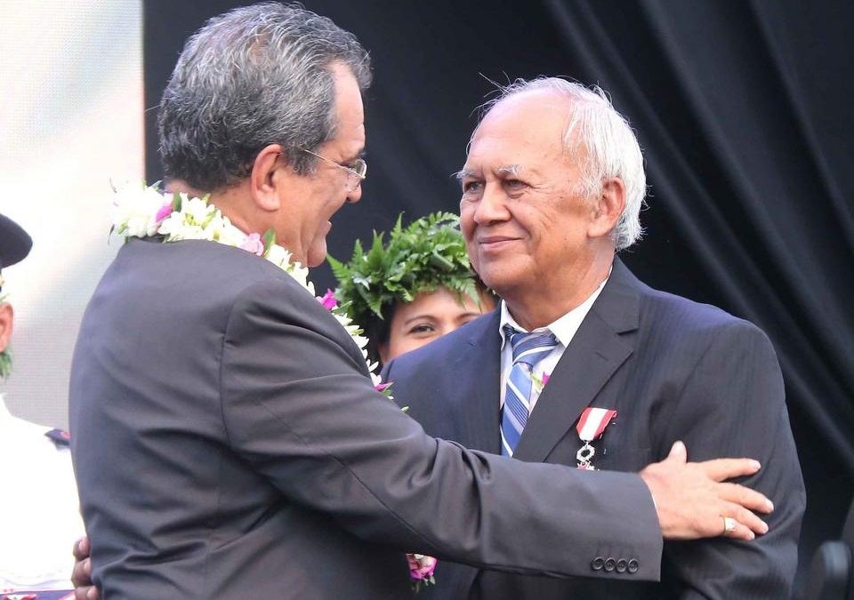 Church Member Receives French Polynesian Government's Highest Award