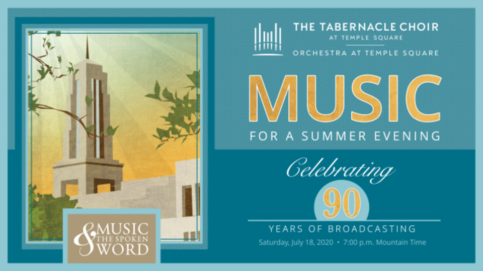 The Tabernacle Choir Commemorates 90 Years of Broadcasting