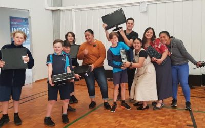 Missionaries and Students in New Zealand Donate Computers to Tonga