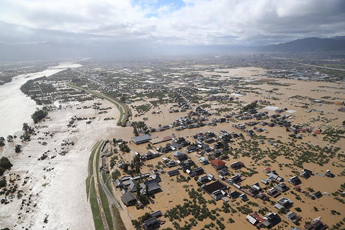 Church Sends Aid to Japan Following Destructive Typhoon