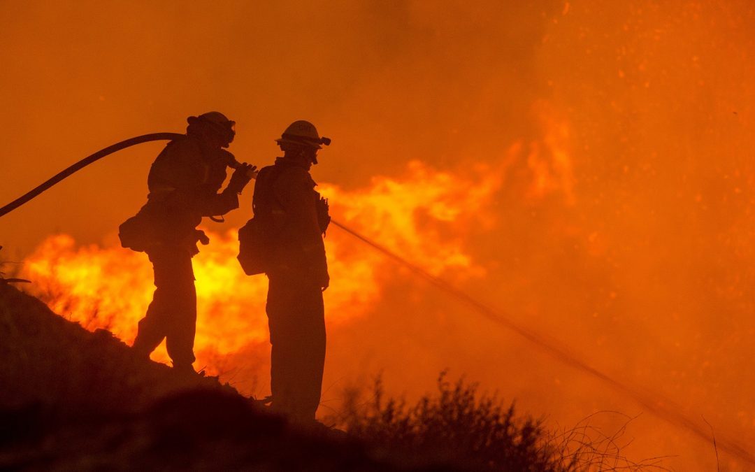 Several Families Forced to Flee As Fire Continues to Spread Across California
