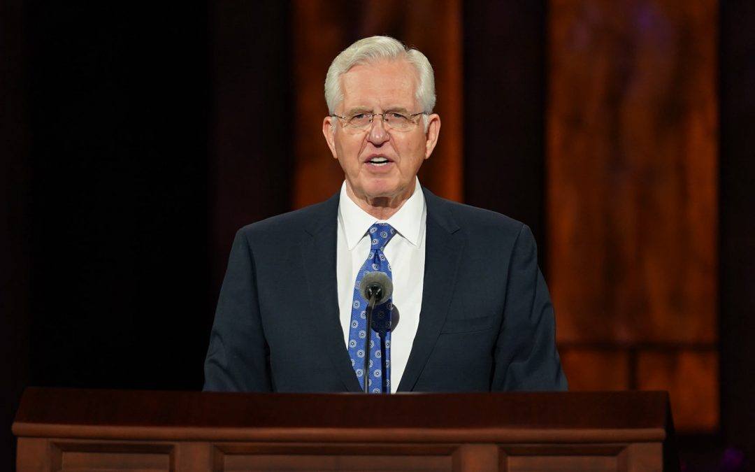Elder Christofferson: Reliance in Culture & Tradition Alone Not Sufficient to Sustain Virtue in Society