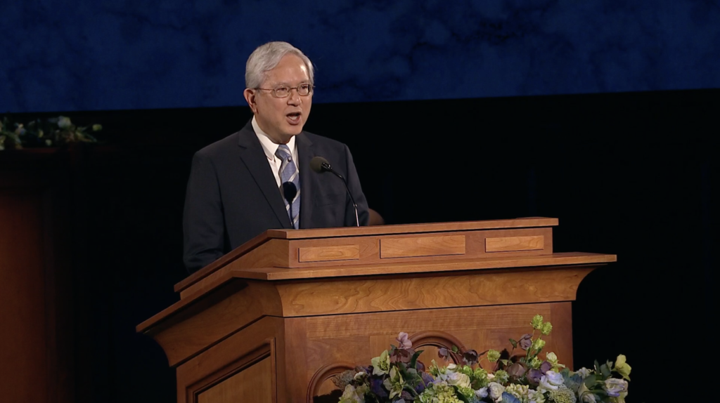 Elder Gong: We Are Invited to Change the World for the Better
