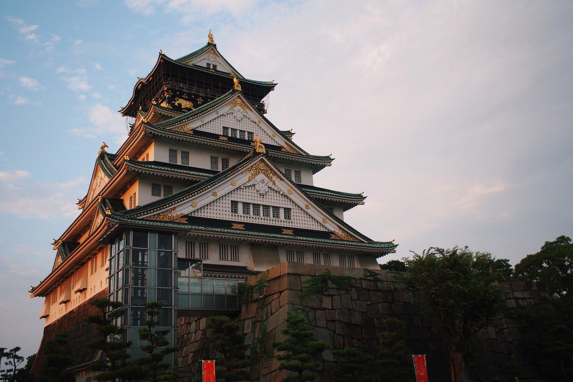 Moroni Channel -Osaka Castle