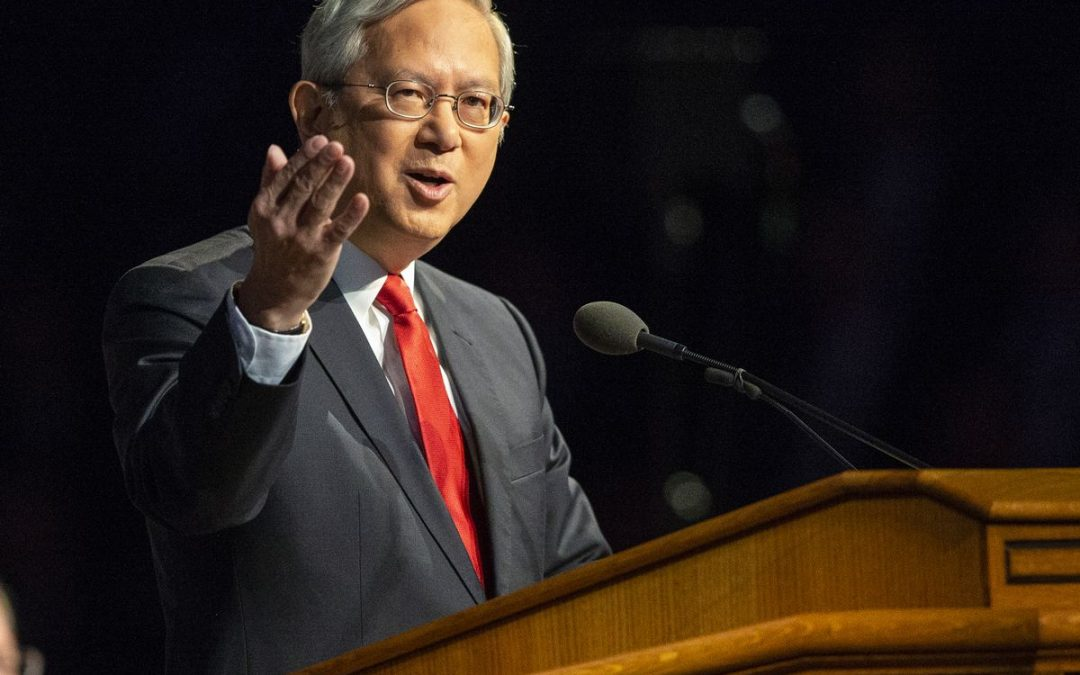 Elder Gong Unable to Attend General Conference Due to Possible COVID-19 Exposure