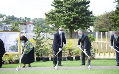 Small-scale Groundbreaking Held for Davao Temple, One of Philippines' 7 Temples