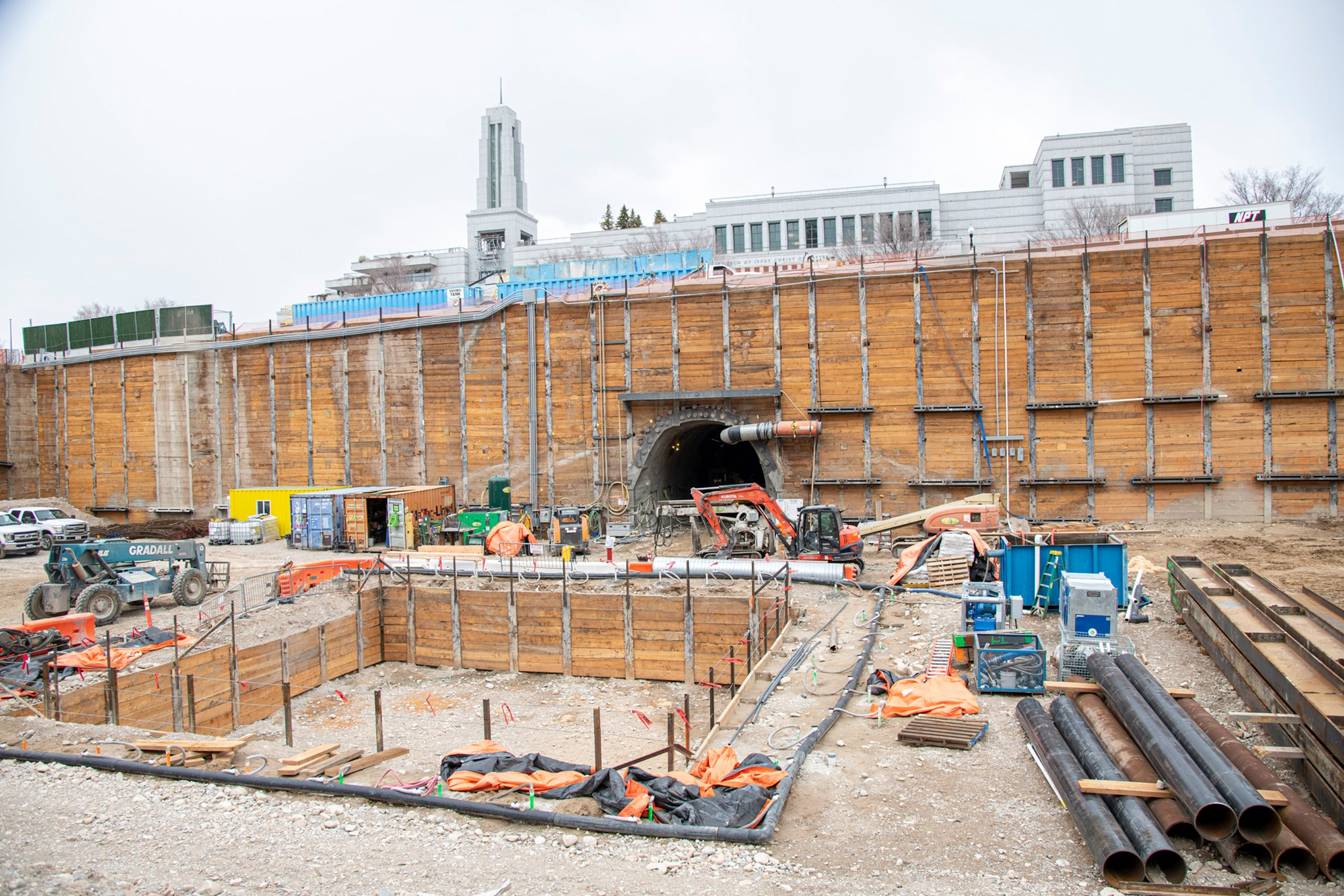 LOOK: See Photos of Progress Made on Temple Square in March