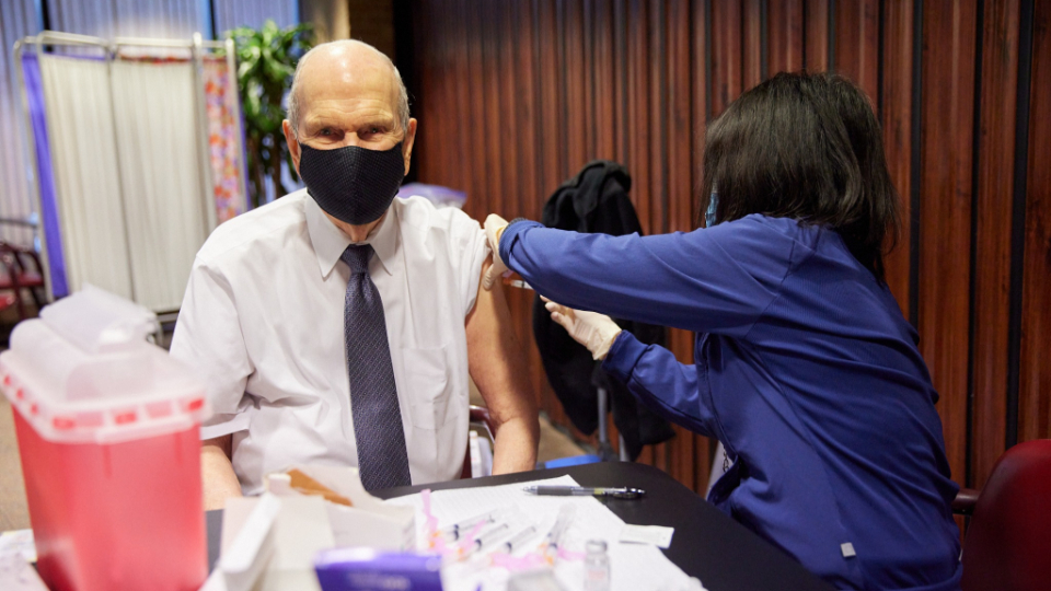 First Presidency Releases Statement on Vaccinations
