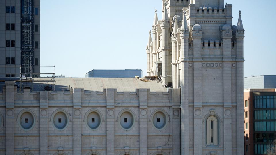 Temple Square Renovation Continues Despite COVID-19