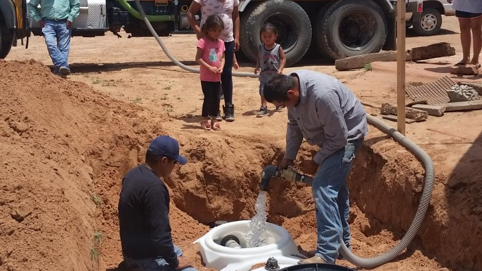 Latter-day Saint Church Delivers Running Water to Navajo Nation
